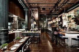chef s table nyc restaurants chefs club by food wine rockwell group archdaily