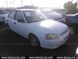 2002 hyundai accent sedan used 2002 hyundai accent gl sedan 4 door car from iaa auto auction