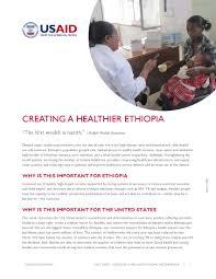 global health ethiopia u s agency for international development