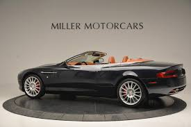 used aston martin db9 2009 aston martin db9 volante stock 7011 for sale near greenwich