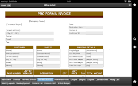 proforma invoice android apps on google play