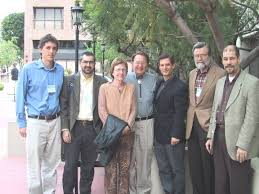 From left to right: Zachary Davis (St. John\u0026#39;s University), Ricardo Parellada Redondo (Universidad Europa de Madrid), Karin Frings, Manfred S. Frings ... - max_sc11
