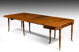 regency extending dining table summers davis antiques u0026 interiors
