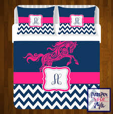 Custom Comforters Horse Custom Bedding Personalized Or Monogrammed Comforter Or