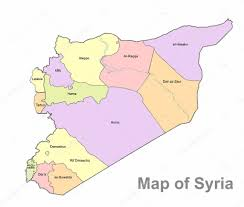 Map Of Syria by Detailed Map Of Syria On A White Background Syria Highly Detailed