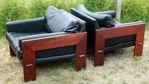adrian pearsall walnut lounge chairs u2013 a pair u2013 atomic flat