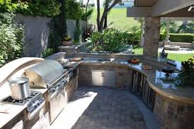 Backyard Landscaping Cost Estimate Outdoor Kitchen Cost Landscaping Network