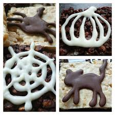 Halloween Cake Supplies Halloween Chocolate Cake Toppers With Choco Writers Garden Tea