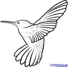 hummingbird cartoon images coloring