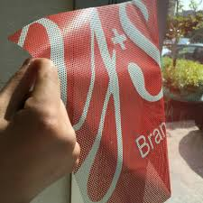 See Through Window Graphics Custom Perforated Window Graphics Custom See Through Window