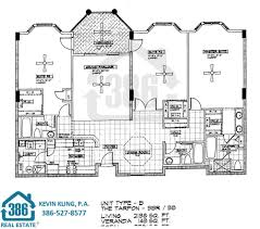 rivers edge floor plans at harbour village ponce inlet florida