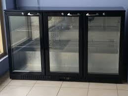 glass door bar fridge perth lg 330hc black three door bar fridge wangara refrigeration