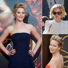 fgrowing hair from pixie to bob jennifer lawrence growing out hair from pixie to bob popsugar