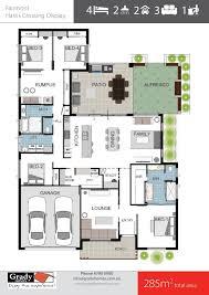 fairmont display 285sqm 4 bedroom house design grady homes