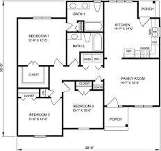 1 floor house plans 1 floor minimalist home plan design 4 home ideas