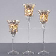 mercury tea light holders china mercury glass tealight candle holders three sizes handmade