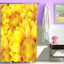 Sunflower Yellow Curtains Sunflower Yellow Curtains Kitchen Gingham Ready Made Curtain Woodio