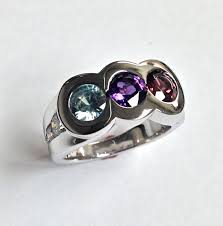 unique mothers rings gemstone jewlery craft revival jewelers