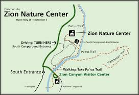 Where Am I On A Map Maps Zion National Park U S National Park Service