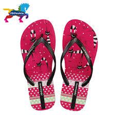 hotmarzz women cute kitty cat print flip flops thong sandals
