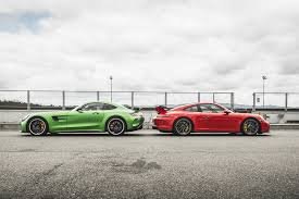 pics of porsche gt 2018 porsche 911 gt3 vs 2018 mercedes amg gt r at