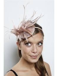 feather hair accessories coffee feather flower fascinator bridal wedding hair