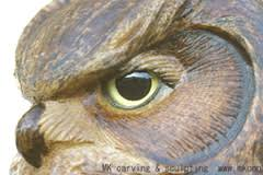 owl wood carving woodcarving carved door sculpture by mk carving canada gallery2