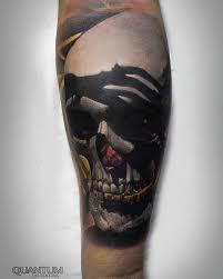 Forearm Skull - skull on forearm best ideas gallery