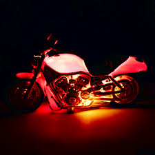 motorcycle table lamp motorbike bike novelty light bedside home