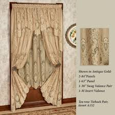 Curtains With Ruffles Curtains Crossover Priscilla Lace Curtains And Valances Ruffles