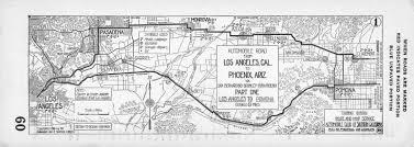 San Bernardino County Map File Automobile Road From Los Angeles Cal To Phoenix Ariz Via