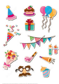 printable stickers for happy birthday party free printable