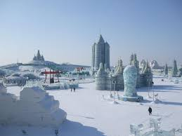 harbin snow and ice festival 2017 harbin ice and snow world in the daytime harbin ice festival