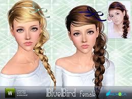 sims 3 custom content hair sims 3 hair hairstyle genetics female sims 3 pinterest sims