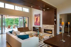 Contemporary Fireplace Doors by Modern Fireplace Doors Living Room Rustic With Brown Sofa