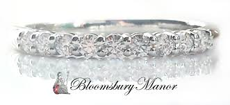 tiffany setting rings images Tiffany co shared setting 0 27ct diamond wedding eternity jpg