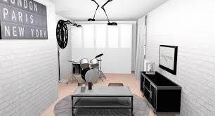 chambre ado new york emejing chambre ado avec batterie gallery design trends 2017