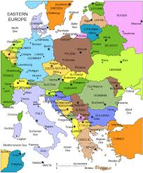 map of eastern european countries ilii00ezy map of eastern europe