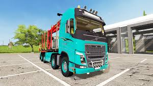 volvo vnl 780 blue truck farming simulator 2017 2015 15 17 worldofmods com u2014 mods for games with automatic installation