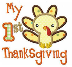 my 1st thanksgiving funstitch embroidery designs