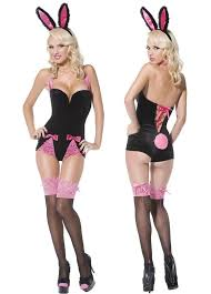 Young Girls Halloween Costumes Womens Bunny Pin Halloween Costume