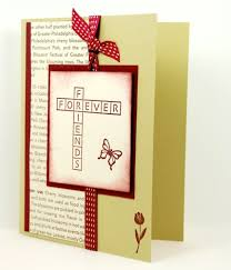 day cards for friends friends forever on this handmade friendship greeting card