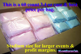 cotton candy bags wholesale individual pre packaged cotton candy bags add your own label