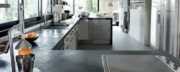 plan de travail cuisine beton béton ciré enduit déco et peinture pour la cuisine mercadier