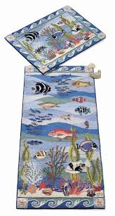 Coral Reef Area Rug Coral Reef Hooked Rugs By Claire Murray Offered In The
