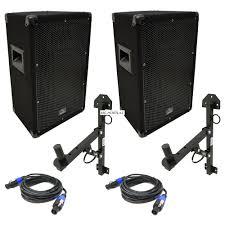 heavy duty speaker wall mounts harmony audio ha v10p dj 10