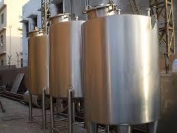 design of milk storage tank dairy machinery milk pasteurizer manufacturer from noida