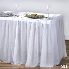 tutu chair covers tablecloths chair covers table cloths linens runners tablecloth