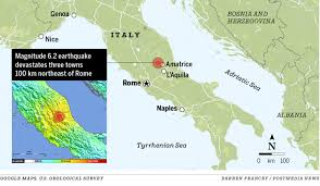 Google Maps Italy by Calgarian Staying In Central Italy Recounts Earthquake Experience