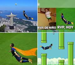Van Persie Meme - los memes de la impresionante palomita de robin van persie brasil 2014